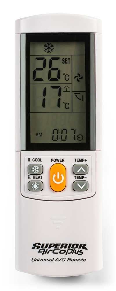 Superior Hotel AirCo Plus Universal Air-Conditioner Remote Control