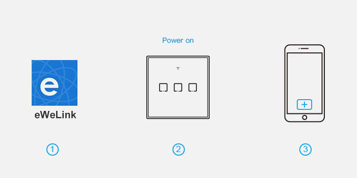 Sonoff T3 UK 1C WiFi Smart Wall Touch Switch Black->Light Switches