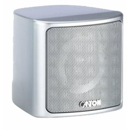 Canton PLUS XS.2 Compact HiFi Onwall Speaker 4 90W Silver (PAIR)