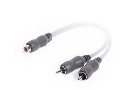Techlink Wires1ST RCA socket to 2RCA 0.20m 640940