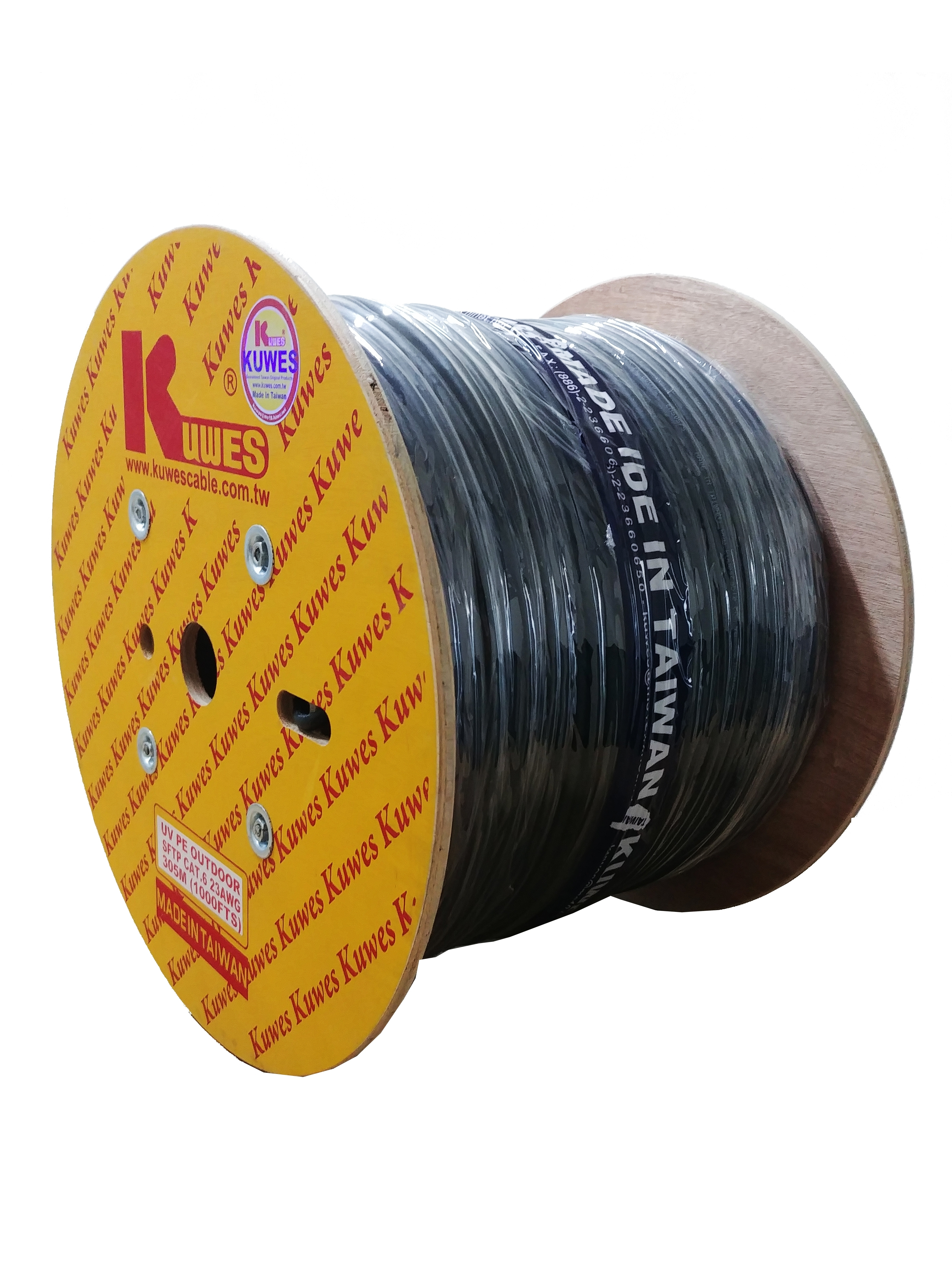 Kuwes CAT6 S/FTP Pure Copper Outdoor 305m