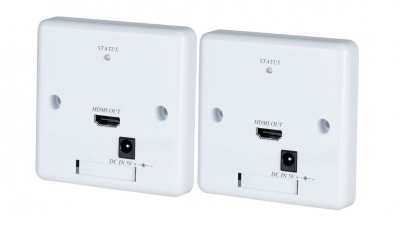 Shetech HW02E-2 Wall Plate HDMI Extender over 2xCAT5 (SET)