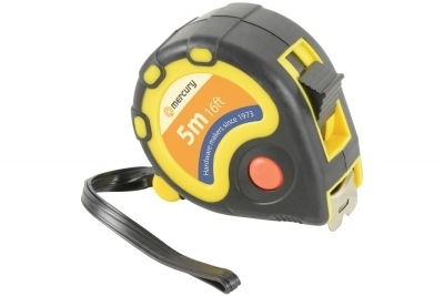 Mercury Heavy-Duty 5m Tape Measure 710.240UK