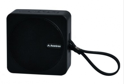 Avantree SP950 Waterproof Shower/Bathroom Bluetooth Speaker Black