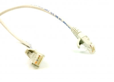 Kuwes Ethernet Cable CAT6 Grey CU 0.5m