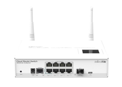 MikroTik CRS109 Wireless HP Gigabit Router/Switch SFP/USB