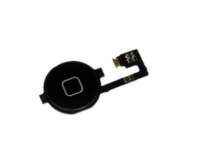 MobileSmart Home Button Assembly for iPhone 4G Black