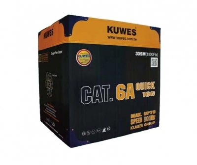 Kuwes CAT6A QUICK6A UTP Pure Copper 305m