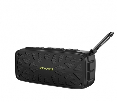 Awei Y330 True Wireless Bluetooth Portable Speaker USB/SD/FM Black