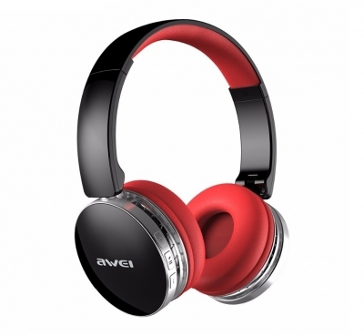Awei A500BL Wireless Bluetooth 4.0 Headphones Red