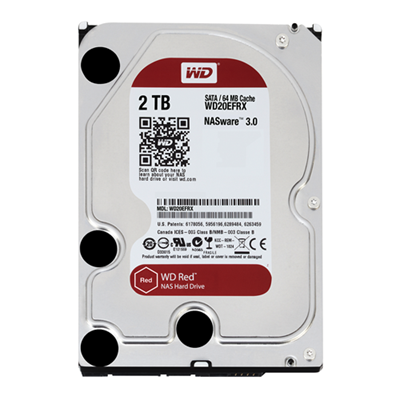 Western Digital RED 2TB HDD SATA 3.5 NAS WD20EFRX
