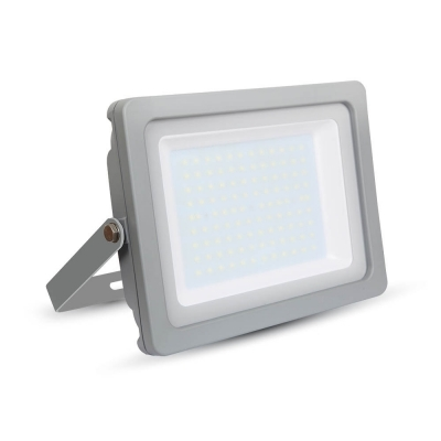 V-TAC 5854 LED Floodlight 100W IP65 Grey Cool White