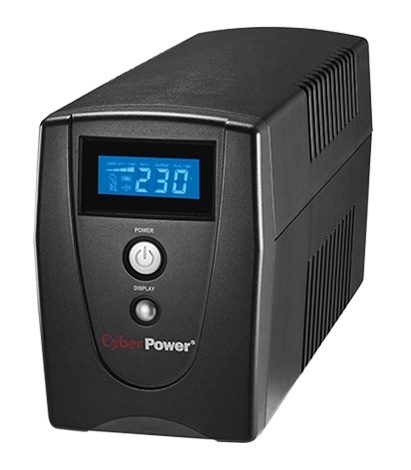 CyberPower VALUE1000 1000VA/550W Line Interactive UPS LCD