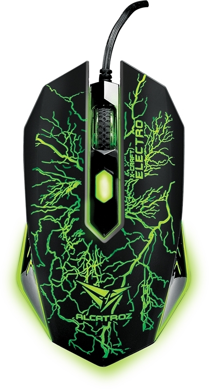 Alcatroz X-Craft Classic (Electro / Galaxy) USB Mouse