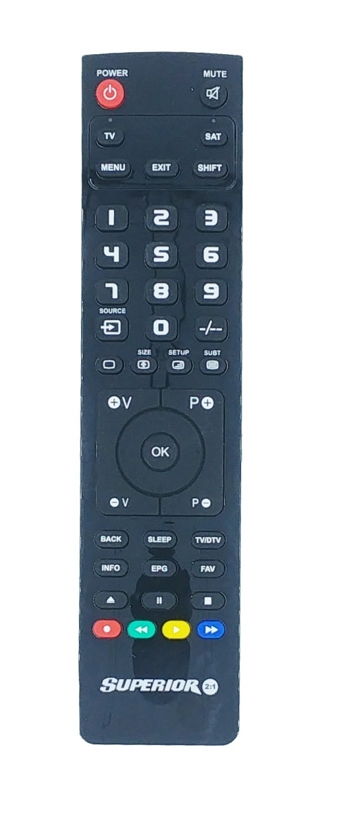 Superior 2in1 TV/Digital PC Programmable Remote Control