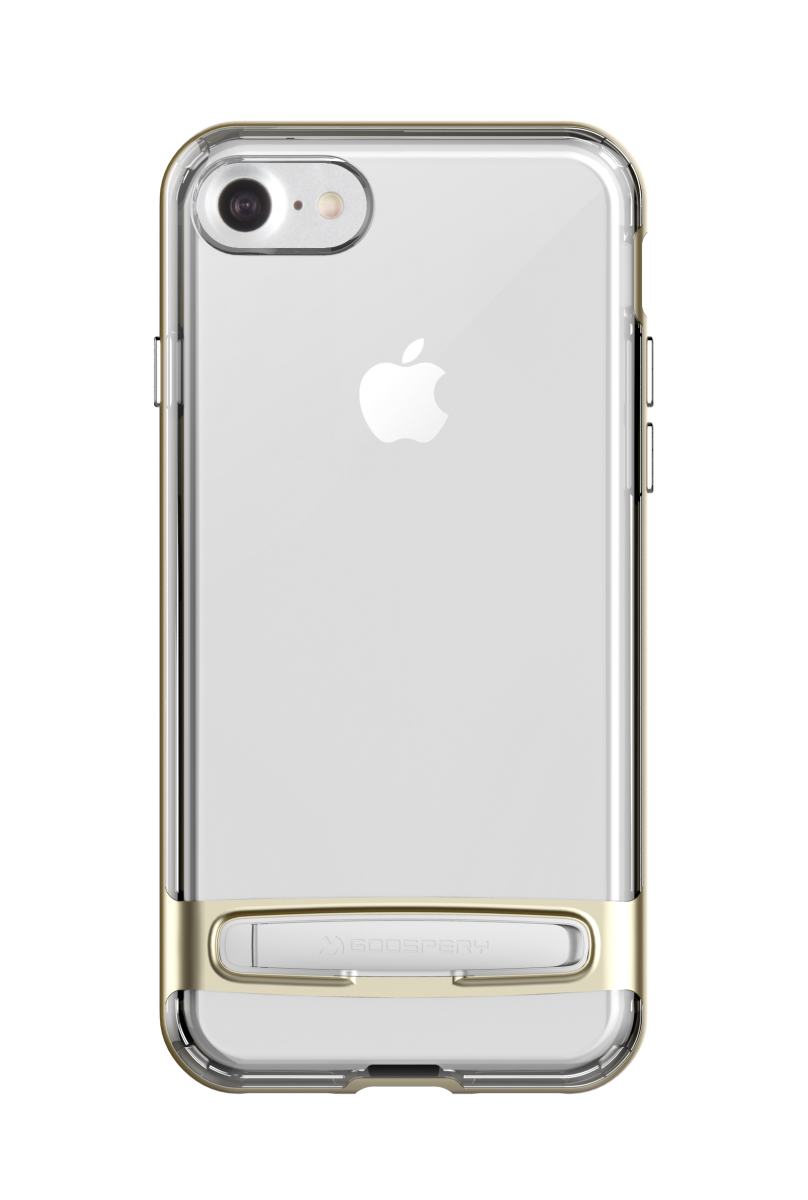 Goospery Dream Bumber iPhone 7/8 Plus Gold with Metal Stand