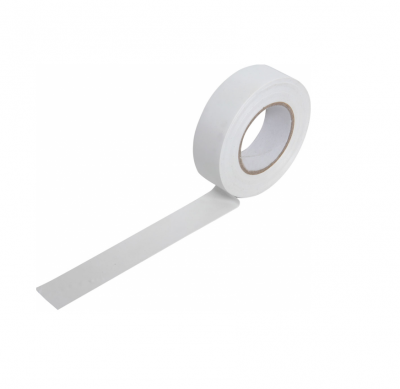 Mercury Insulation Tape 19mm x 20m White 710.303UK