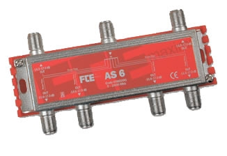 FTE AS6 Splitter 1-6 5-2400mhz Class A
