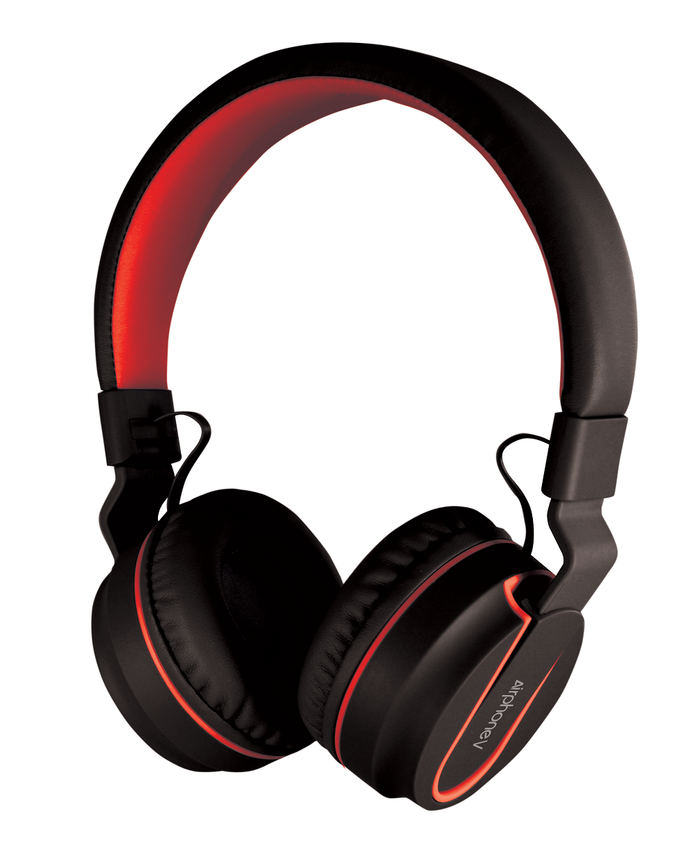 SonicGear AirphoneV Bluetooth Headphones Black-Red