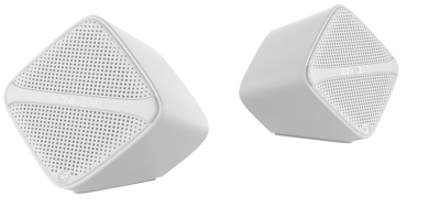 SonicGear SonicCube 2.0 USB PC Speakers White