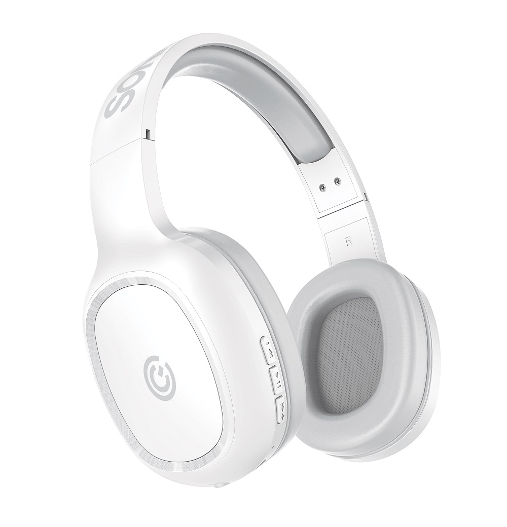 SonicGear Airphone3 Bluetooth Headphones White