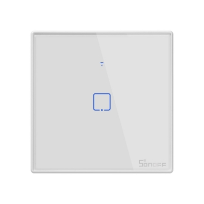 Sonoff T2 UK 1C WiFi Smart Wall Touch Switch White