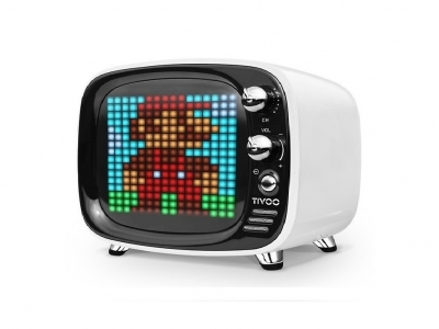 Divoom Tivoo Pixel-Art Bluetooth Speaker White