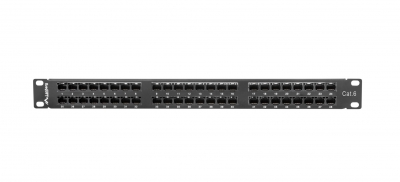 Lanberg PPU6-1048 48 Port CAT6 Patch Panel 1U