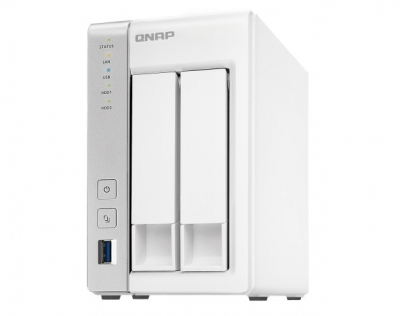 QNAP TS-231P2-1G 2BAY NAS Quad Core 1GB