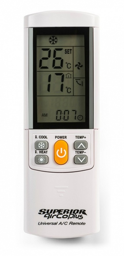 Superior AirCoPlus Universal Air-Conditioner Remote Control
