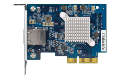 QNAP QXG-10G1T 10GbE PCIe Ethernet Card for PC&NAS