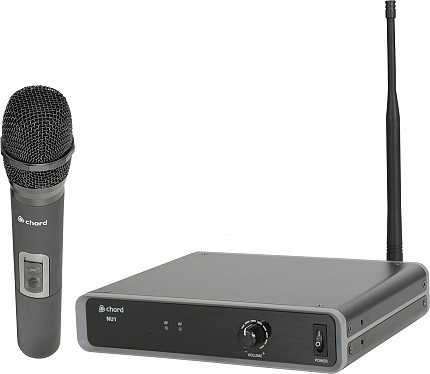 Chord NU1-H UHF Wireless Handheld Microphone 863.1MHZ 171.981UK
