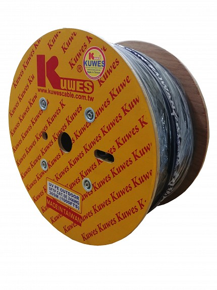 Kuwes CAT5E S/FTP Pure Copper Outdoor 305m