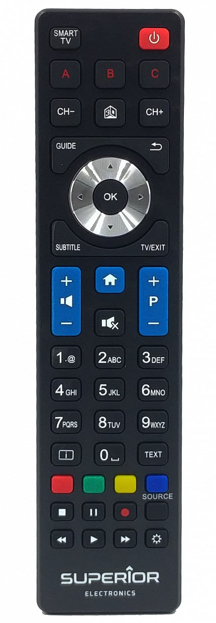 Superior Philips Smart TV Replacement Remote Control