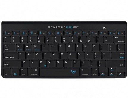 Alcatroz Xplorer GO! BT300 BT Keyboard Black