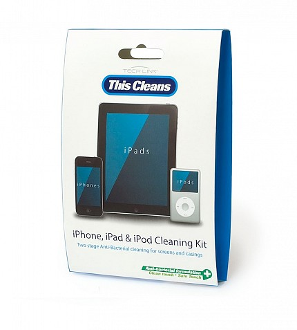 Techlink 511014 This Cleans iPod iPhone & iPad Cleaning Kit