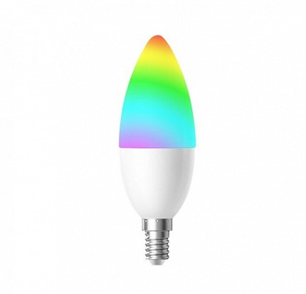 WOOX R5076 E14 4.5W Wi-Fi Smart LED Bulb RGB & WW