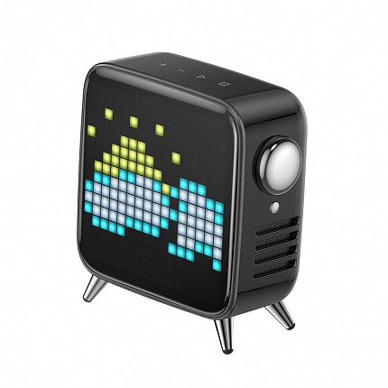Divoom Tivoo Max Pixel-Art Bluetooth Speaker Black