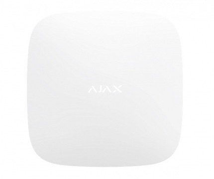 AJAX TCP-IP/GSM Alarm Hub Plus White
