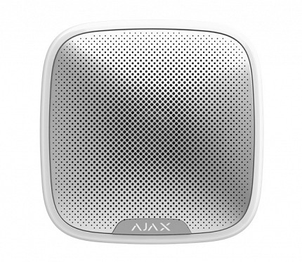 AJAX Wireless Outdoor StreetSiren White