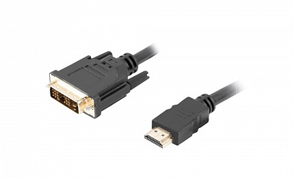 Lanberg HDMI(M) to DVI-D(M)(18+1) Cable 1.8m