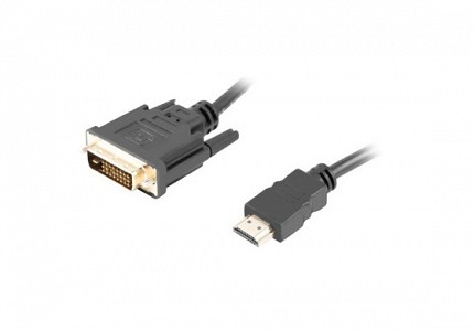 Lanberg HDMI(M) to DVI-D(M)(24+1) Cable 1.8m
