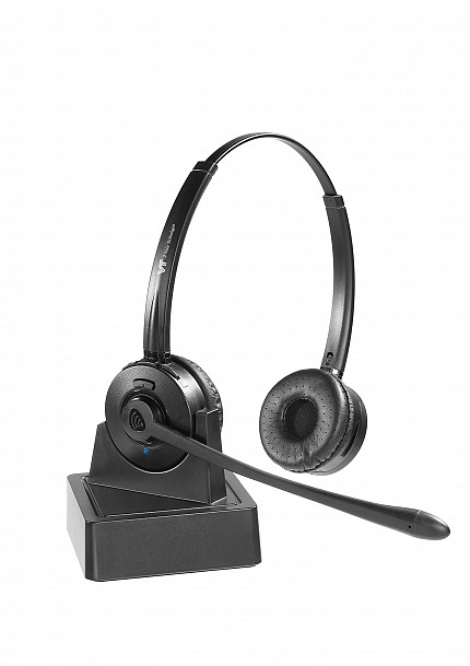VT 9602BT Dual Bluetooth Headset for IP Phone, Mobile & PC