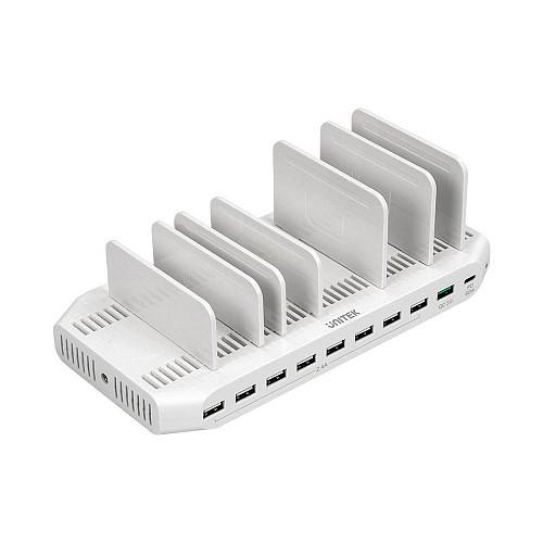 Unitek Y 2190 160W USB Type C PD Charging Station QC 3.0