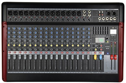 Citronic CSX18 18 Channels Live Mixer USB/BT/DSP 170.885UK