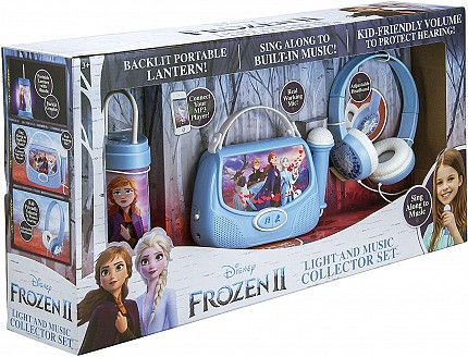 Frozen2 Lantern, Microphone And Headphones Set