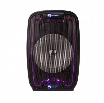 N-Gear FLASH810 8 Portable Speaker LED/USB/FM/BT