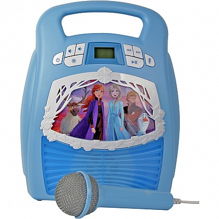 Frozen2 Bluetooth MP3 Karaoke with Microphone