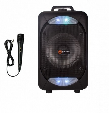 N-Gear FLASH 610 Portable Speaker BT/USB/Mic