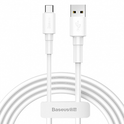 Baseus Mini White Cable USB For Type-C 3A 1m White